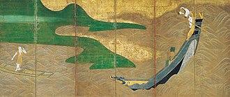 Ogata Kōrin - Image: The Poet Bo Juyi