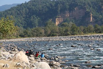 The River Kosi In Corbett National Park.jpg