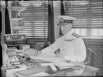 Percy Noble (Royal Navy officer) - Admiral Sir Percy Noble  as Head of the RN Admiralty Delegation
