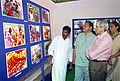 The Secretary, Ministry of Tribal Affairs, Shri M. Shankar going round the exhibition of Irula Natural Herbal Products, produced by the Irula Tribal women's Welfare Society, Chengalpet, (Tamil Nadu), in New Delhi.jpg