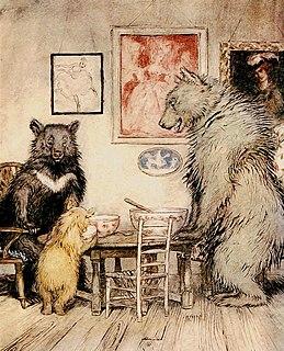 Goldilocks and the Three Bears 19th-century British fairy tale