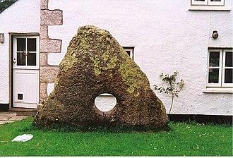 Gweek - The Tolvan Holed Stone