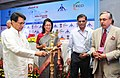 The Union Minister for Civil Aviation, Shri Ajit Singh lighting the lamp at the Launch of 4th International Exhibition & Conference on Civil Aviation 'India Aviation 2014', in New Delhi on May 03, 2013.jpg