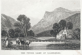 The Upper Lake Of Llanberis