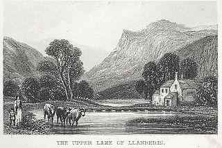 The Upper Lake Of Llanberis