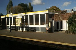 The Waiting Room at Broad Green Station - geograph.org.uk - 1527335.jpg