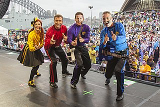 The Wiggles Australian childrens music group