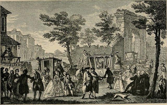 Högadeln, franskt 1700-tal