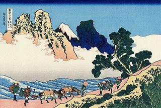 L'arrière du Fuji depuis la Minobu