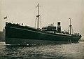 The cargo ship 'Queenmoor' heading on sea trials (23293401246).jpg