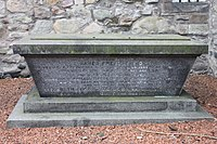 The grave of James Gregory, Canongate Churchyard, Edinburgh.JPG