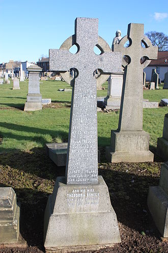 Ralph Copeland - The grave of Ralph Copeland, Morningside Cemetery, Edinburgh