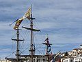 The masts of the Shtandart (ship, 1999), Sète cf02.jpg