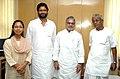 The new team at work in the Ministry of Rural Development led by the Union Minister for Rural Development, Shri C.P. Joshi, in New Delhi on June 02, 2009.jpg