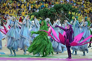 The opening ceremony of the FIFA World Cup 2014 44.jpg