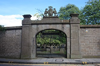The Howff - The original west gate, the Howff Cemetery