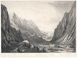 The pass of Llanberis