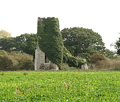 The ruined church of St Felix - geograph.org.uk - 1528057.jpg