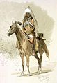 Theodor Horschelt. Aslan-Bek, kazak konvoia namestnika kavkazskago.jpg