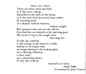 Alaíde Foppa - Image: There Are times