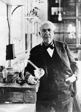 Thomas Alva Edison in 1919