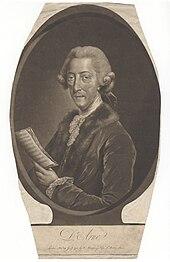Thomas Arne in älteren Jahren (Quelle: Wikimedia)