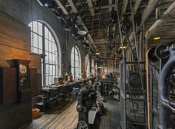 Thomas Edison workshop, by Acroterion.