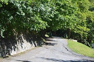 Three Hills (Warm Springs, Virginia) - Entrance