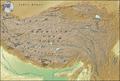 Tibet Karte Topograpisch ohne Grenzen.png