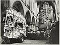 Tijdens het Internationaal Orgelfestival werd de eerste uitvoering gebracht van een compositie van de stadsorganist Piet Kee voor kerkorgel en drie draaiorgels. NL-HlmNHA 54010964.JPG