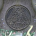 Time plaque on Millennium milepost 2 - geograph.org.uk - 847407.jpg