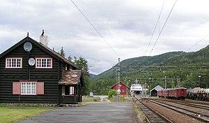 Tinnoset Line - Tinnoset Station