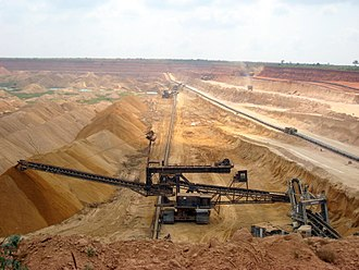 Mining industry of Togo - Phosphate mining in Togo