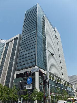 Tokyo Building - Image: Tokyo Building, at Marunouchi, Chiyoda, Tokyo (2014.05.03)