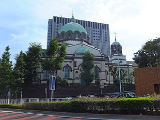 Holy Resurrection Cathedral - Tokyo Resurrection Cathedral also known as Nikorai-do