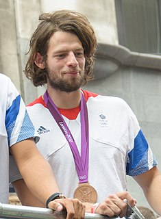 Tom Ransley British rower