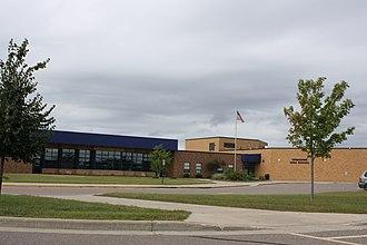 Tomahawk, Wisconsin - Image: Tomahawk Wisconsin High School
