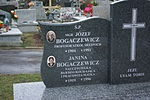 Tomb of Bogaczewicz family at Central Cemetery in Sanok 2 Józef and Janina.jpg