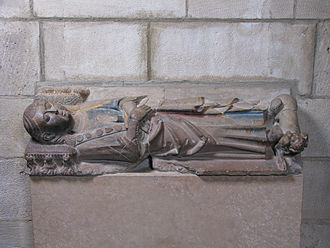 Ermengol IX, Count of Urgell - Tomb effigy in The Cloisters.