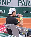 Tommy Haas Roland Garros 2013 2nd round match vs Jack Sock.JPG