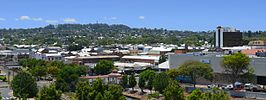 Toowoomba's CBD and Mount Lofty