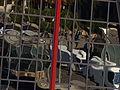 Torres Kio, banda roja, Madrid, España, 2015.JPG
