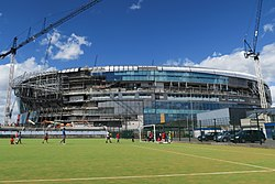 Tottenham Hotspur Stadium - view from east - July 2018.jpg