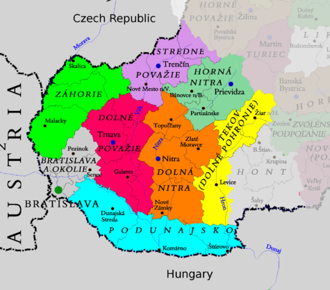Western Slovakia Travel guide at Wikivoyage