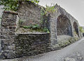 Town walls at St Laurence Gate.jpg