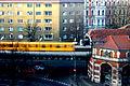 Train entering u-bahnhof schlesisches tor.JPG
