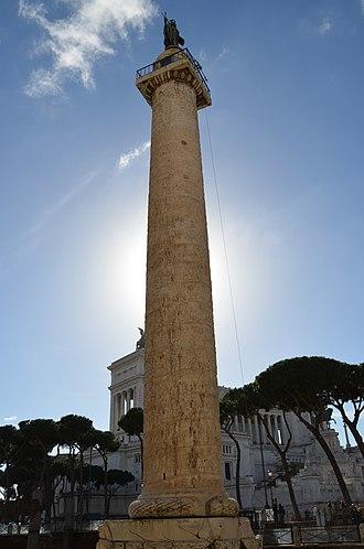 Origin of the Romanians - Trajan's Column in Rome
