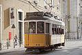 Tranvía en Rua Arsenal, Lisboa, Portugal, 2012-05-12, DD 01.JPG