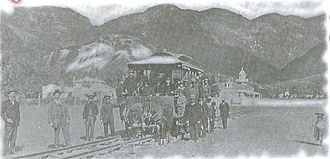 Trams in Bogotá - Tramway in Bogotá, 1884