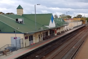 Traralgon railway station - Traralgon railway station in September 2015